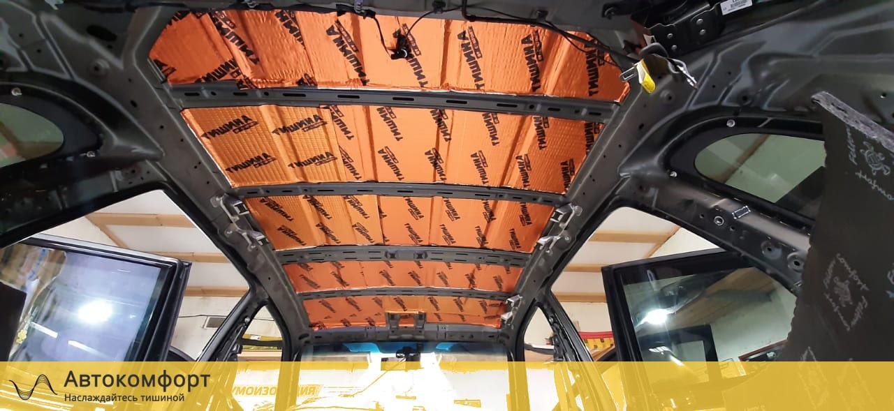 Шумоизоляция крыши (потолка) Hyundai Tucson 1 (Туссан/Туксон)