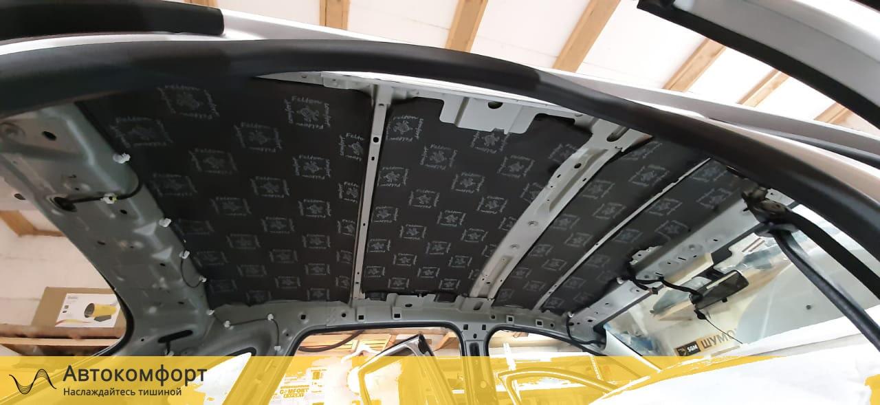 Шумоизоляция крыши (потолка) Lada XRay (Лада Х Рей)