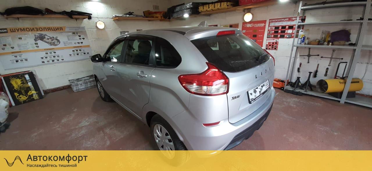 Шумоизоляция Lada XRay (Лада Х Рей)