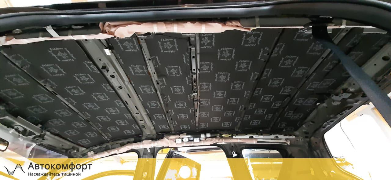 Шумоизоляция потолка (крыши) Mitsubishi Outlander XL (Аутлендер XL)