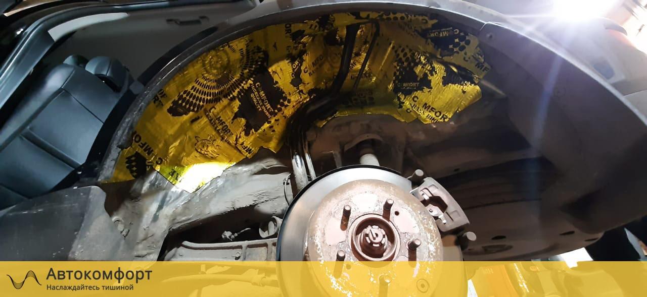 Шумоизоляция арок и подкрылок Mitsubishi Outlander XL (Аутлендер XL)