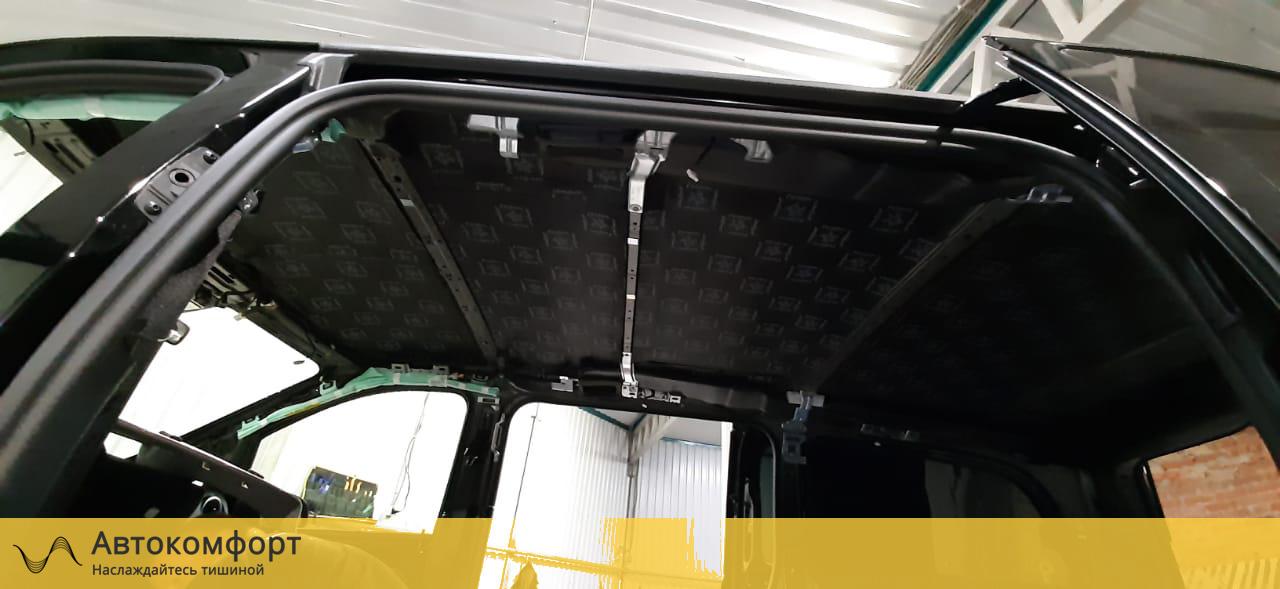 Шумоизоляция крыши (потолка) Mercedes Vito W447