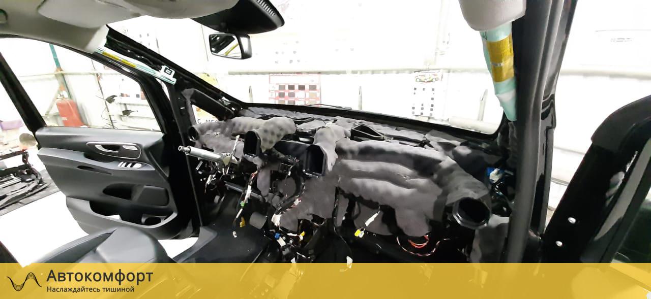 Шумоизоляция торпедо Mercedes Vito W447