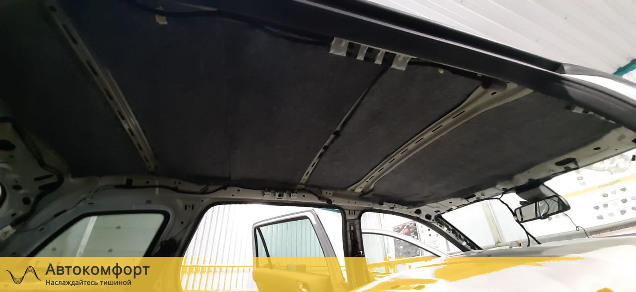 Шумоизоляция крыши (потолка) Opel Astra H