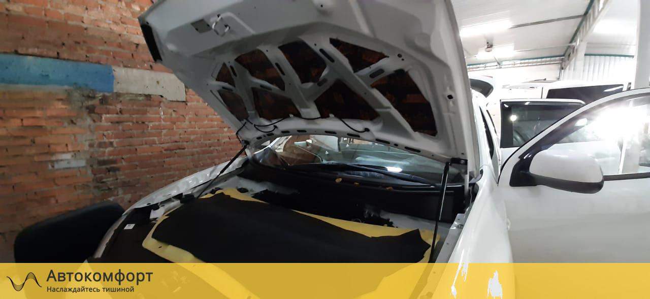 Шумоизоляция капота Mitsubishi ASX (Мицубиси АСХ)