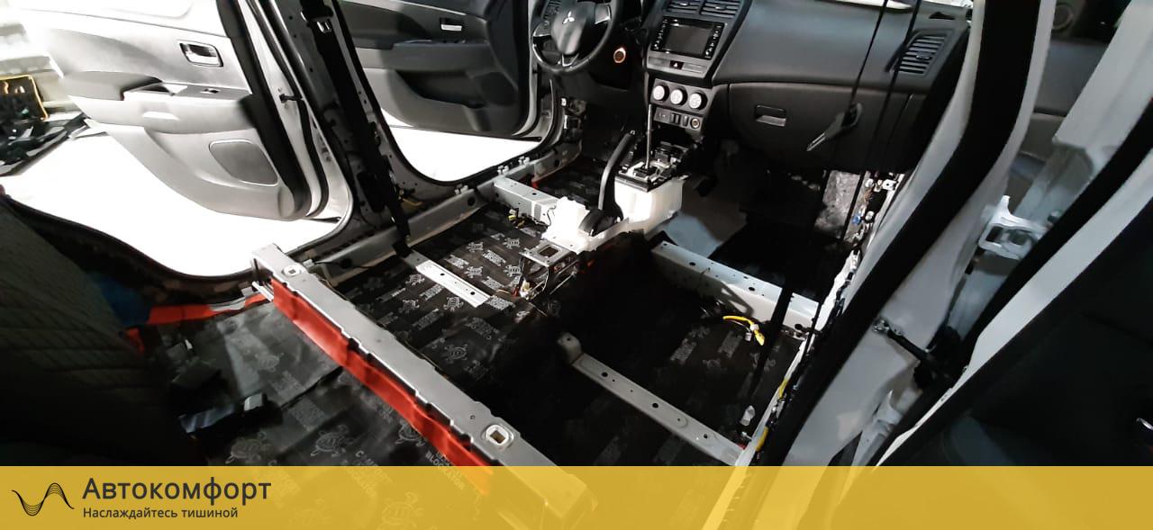 Шумоизоляция пола (дниша) Mitsubishi ASX (Мицубиси АСХ)