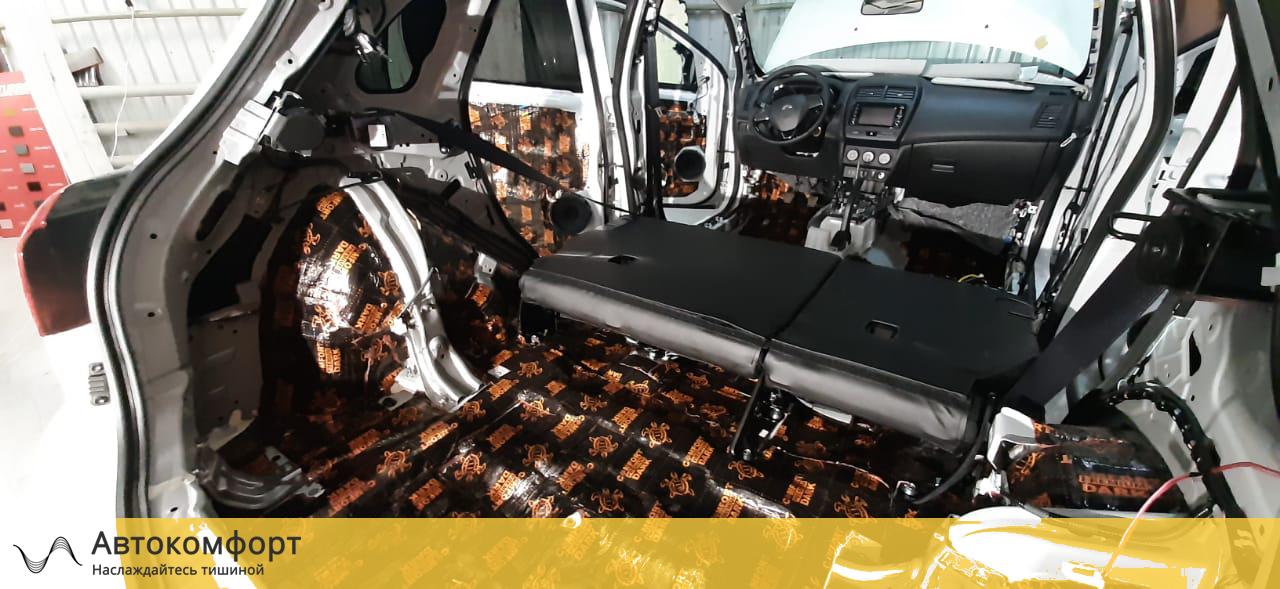 Шумоизоляция багажника Mitsubishi ASX (Мицубиси АСХ)