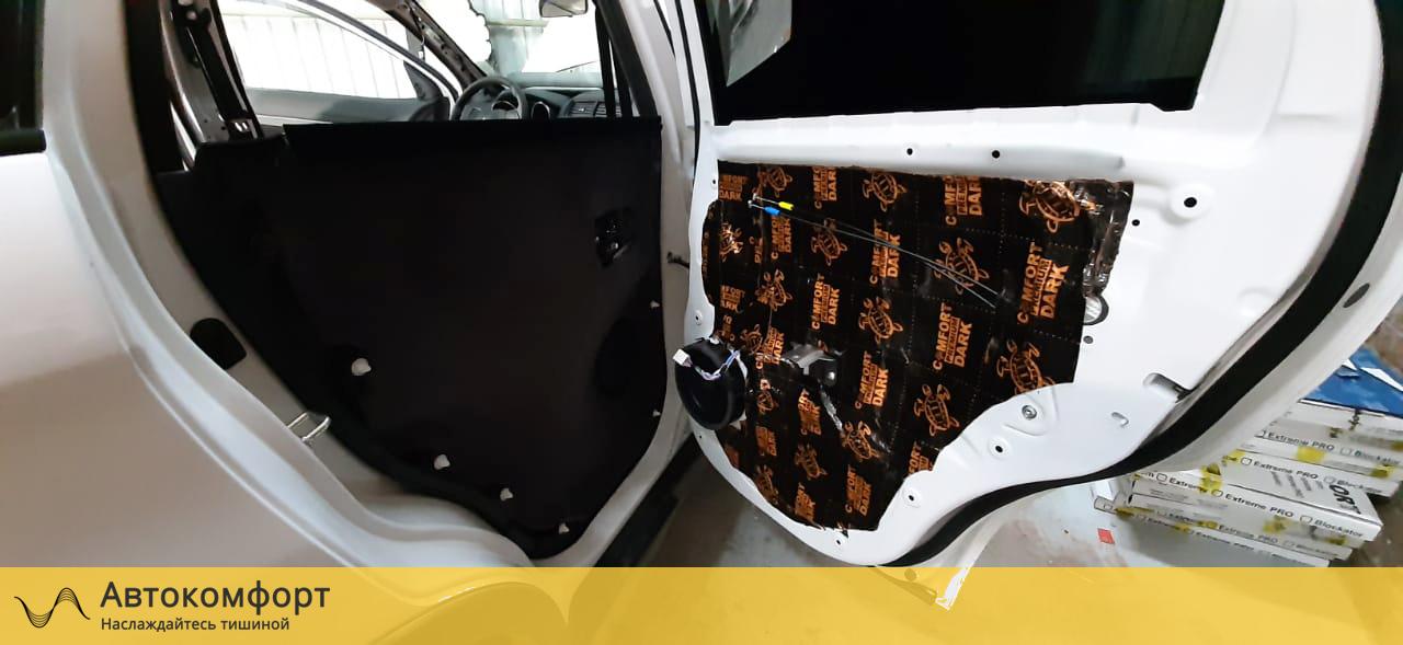 Шумоизоляция дверей Mitsubishi ASX (Мицубиси АСХ)