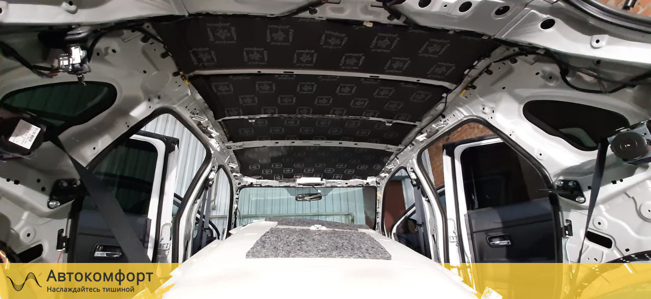 Шумоизоляция потолка (крыши) Mitsubishi ASX (Мицубиси АСХ)