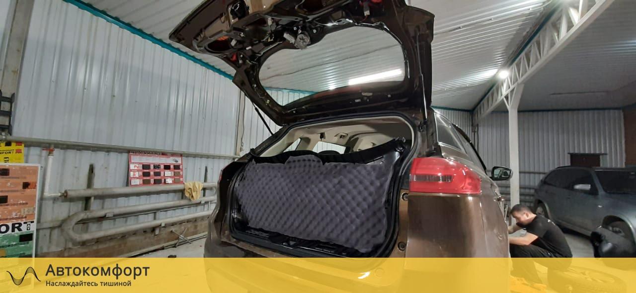 Шумоизоляция багажника Geely Atlas