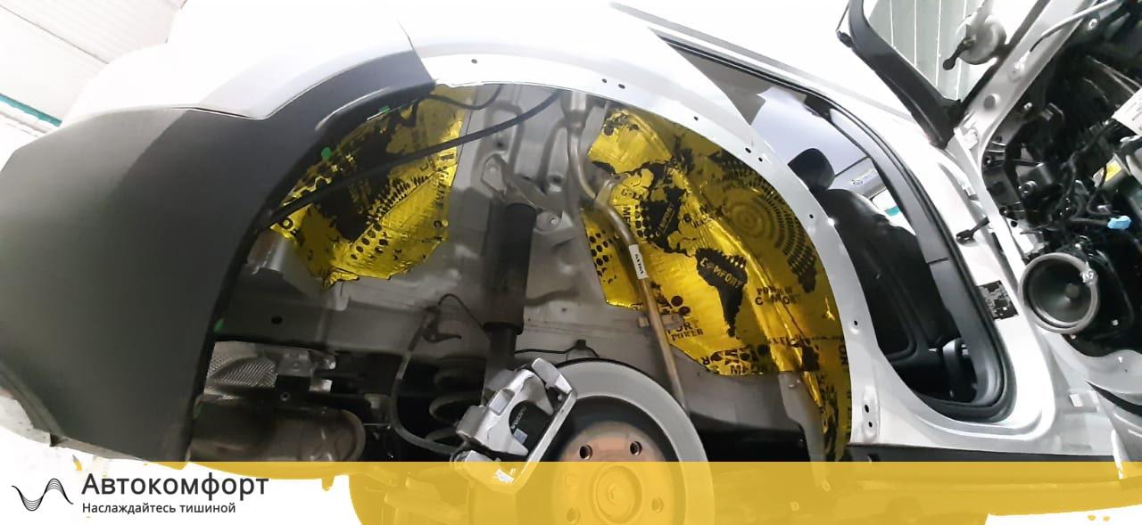 Шумоизоляция арок Volvo XC40