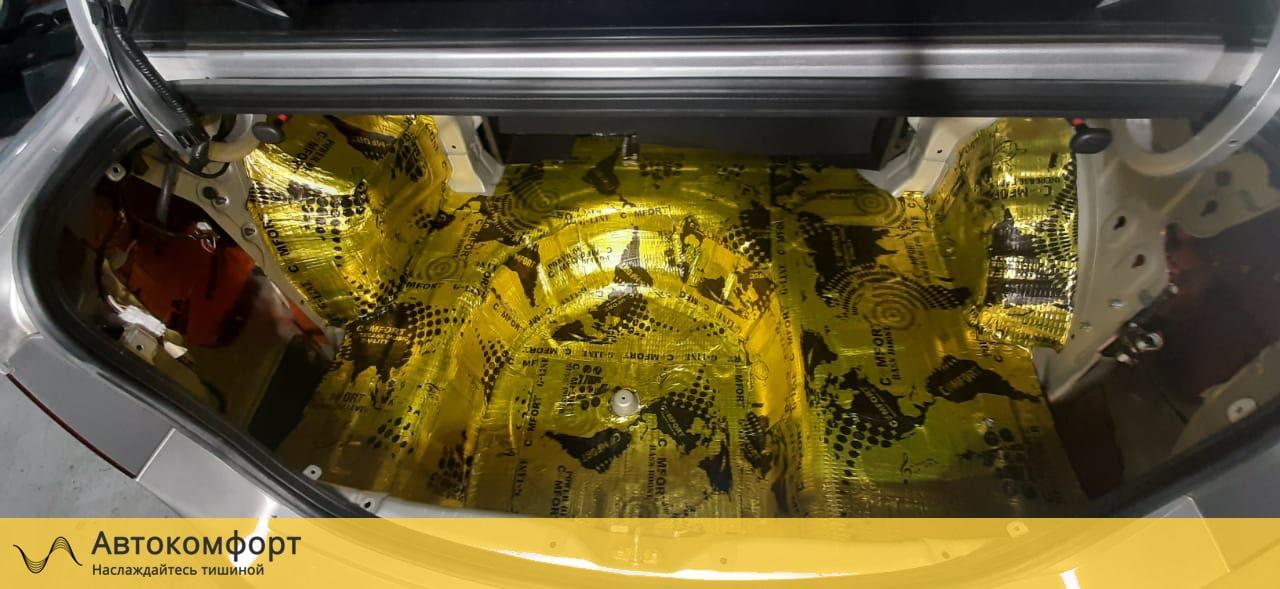 Шумоизоляция багажника Kia Cerato 2