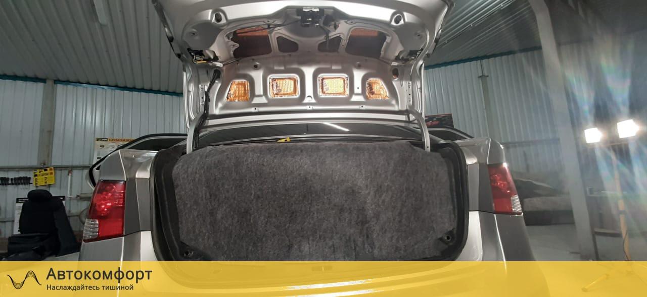 Шумоизоляция крышки багажника Kia Cerato 2