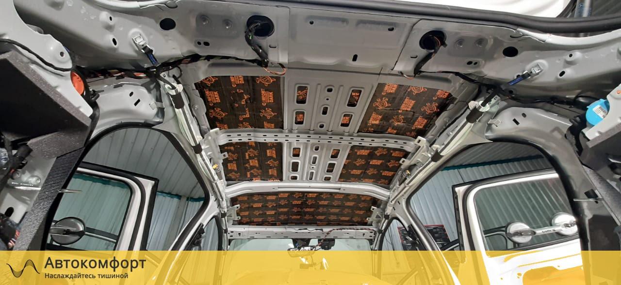 Шумоизоляция крыши (потолка) Mercedes GLA W156