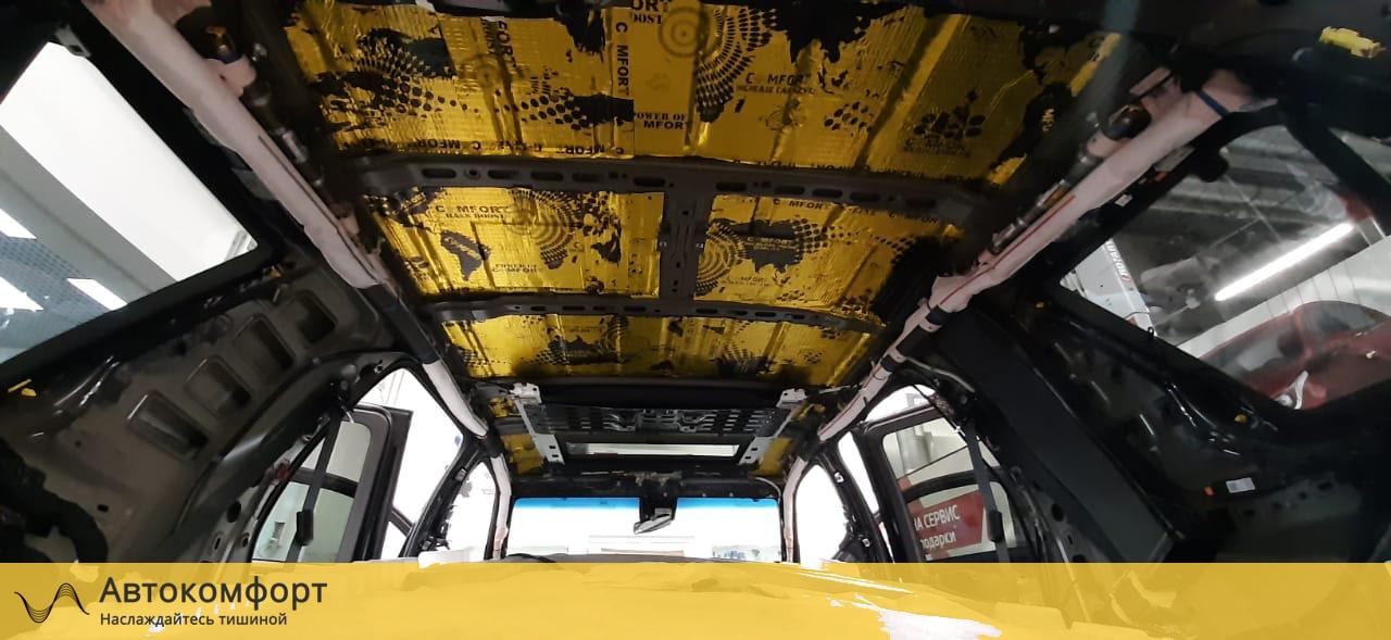 Шумоизоляция крыши (потолка) Cadillac Escalade 4