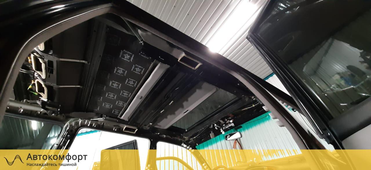 Шумоизоляция крыши (потолка) Land Cruiser 100