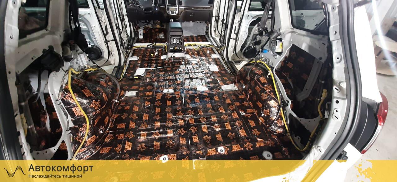 Шумоизоляция багажника Hyundai Santa Fe II (Санта Фе 2)