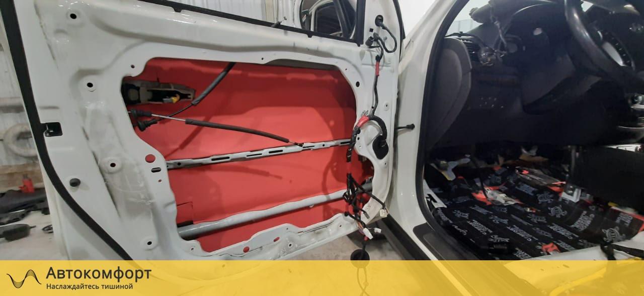 Шумоизоляция дверей Hyundai Santa Fe II (Санта Фе 2)