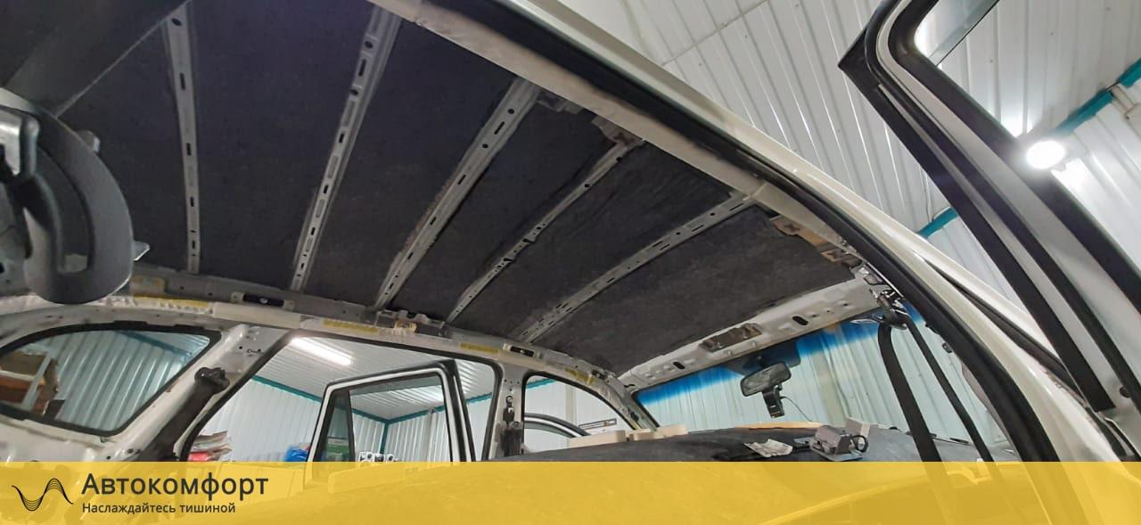 Шумоизоляция крыши (потолка) Hyundai Santa Fe 2