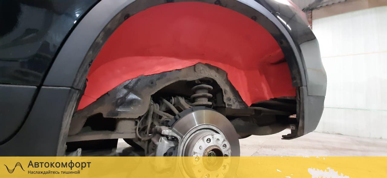 Шумоизоляция арок и подкрылок BMW X4 F26