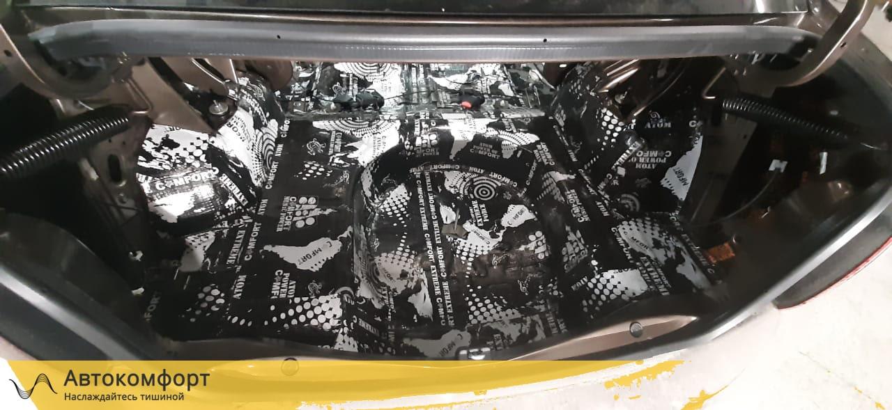Шумоизоляция багажника Renault Logan 2