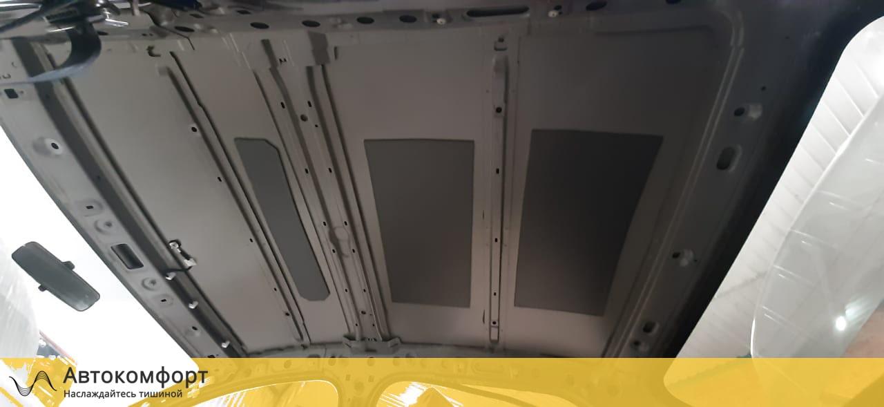 Шумка крыши Renault Logan 2