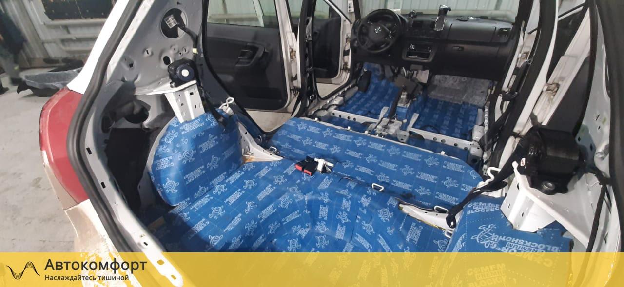 Шумоизоляция багажника Skoda Fabia