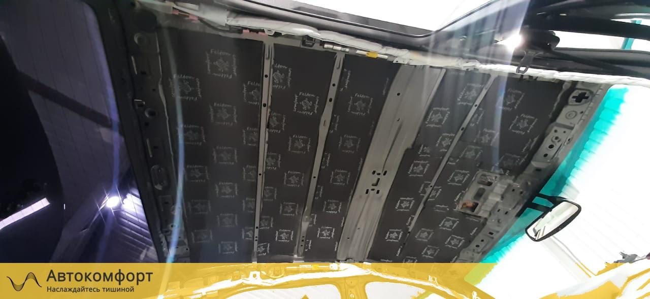Шумоизоляция крыши (потолка) Toyota Camry V40