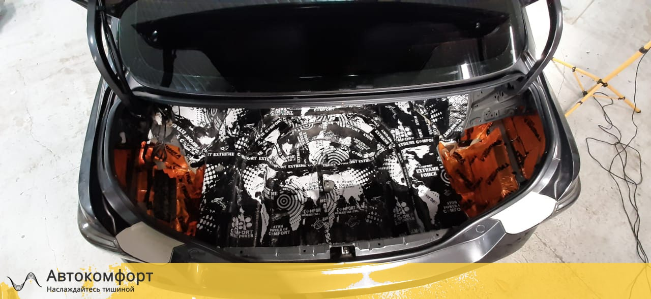Шумоизоляция багажника Toyota Camry V40