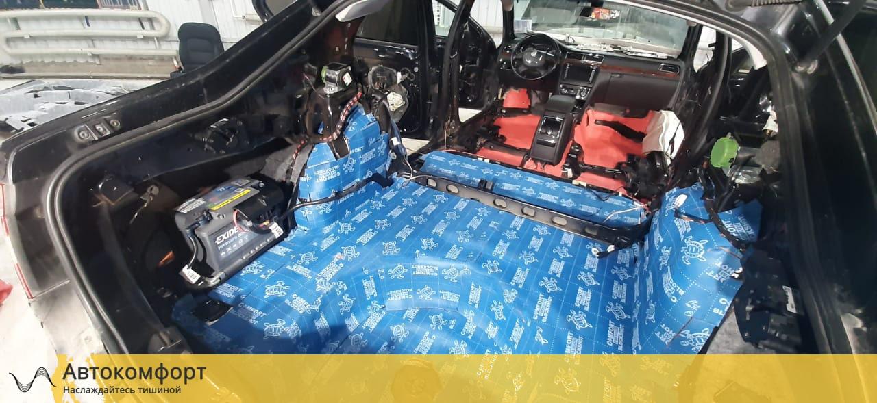 Шумоизоляция багажника Skoda Superb MK2