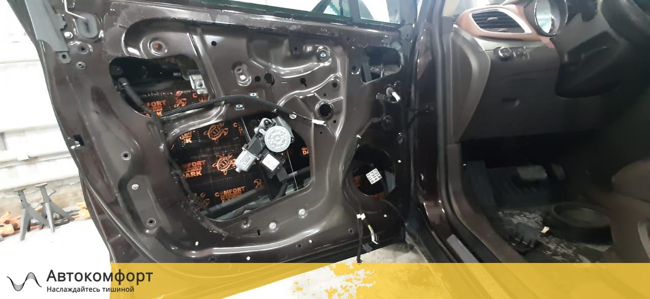 Шумоизоляция дверей Opel Mokka | Опель Мокка