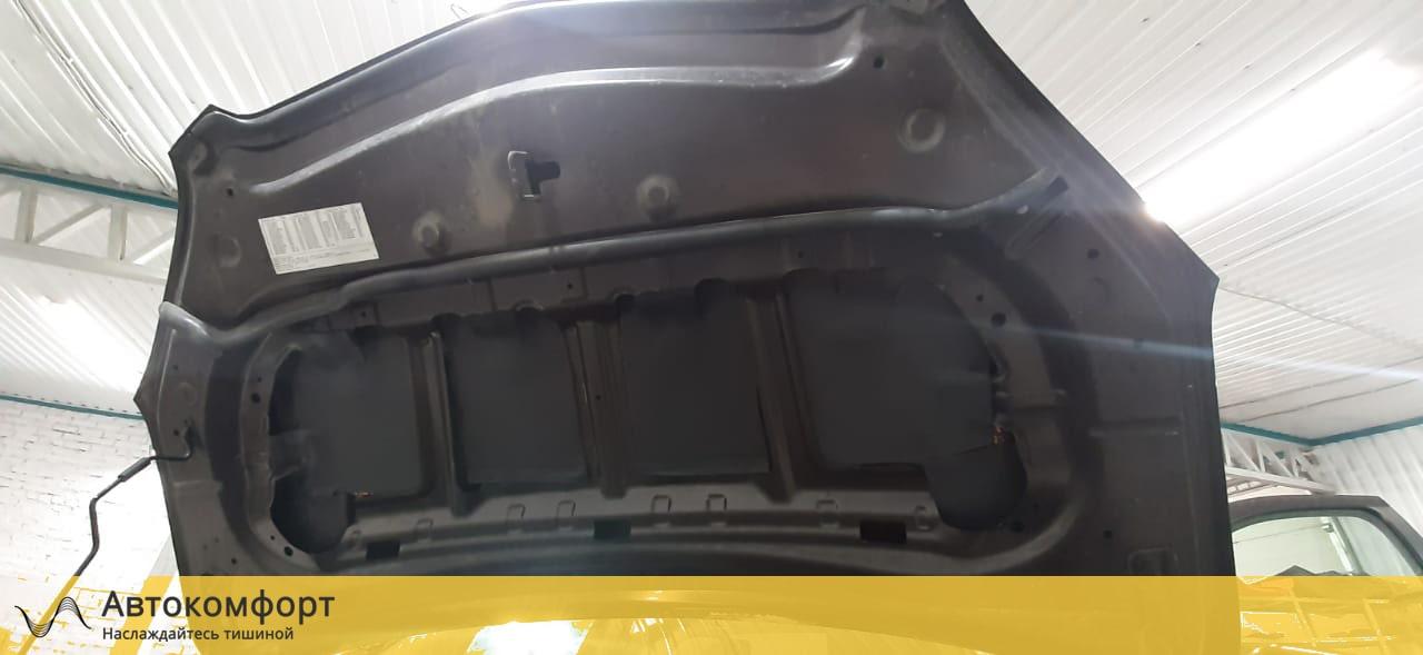 Шумоизоляция капота Opel Mokka | Опель Мокка