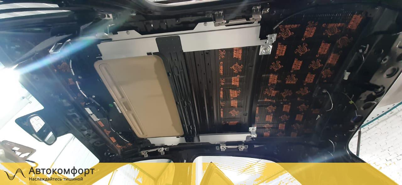 Шумоизоляция крыши (потолка) Opel Mokka | Опель Мокка