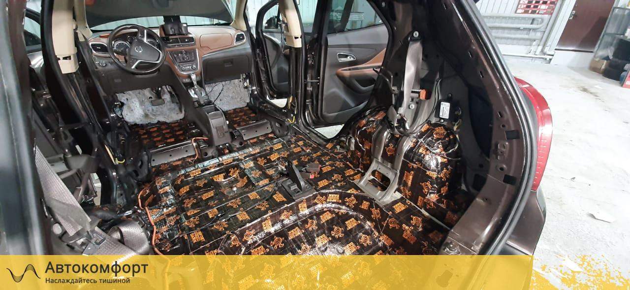 Шумоизоляция багажника Opel Mokka | Опель Мокка