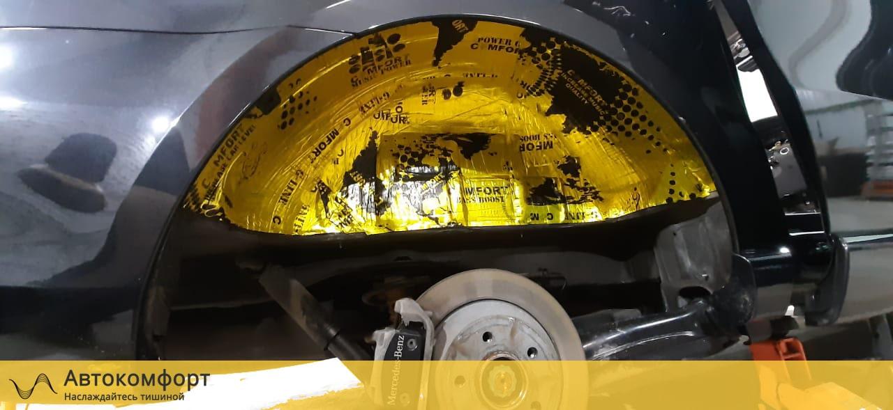 Шумоизоляция колёсных арок Mercedes Benz V Class W447 (В Класс)
