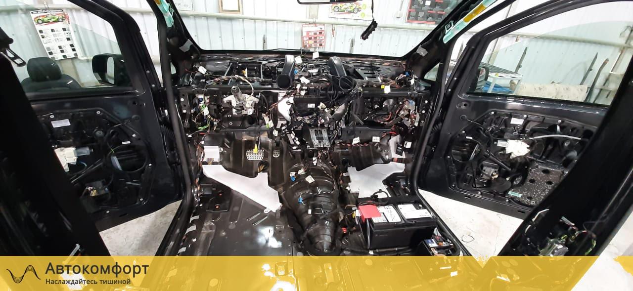 Шумоизоляция торпедо Mercedes Benz V Class W447 (В Класс)