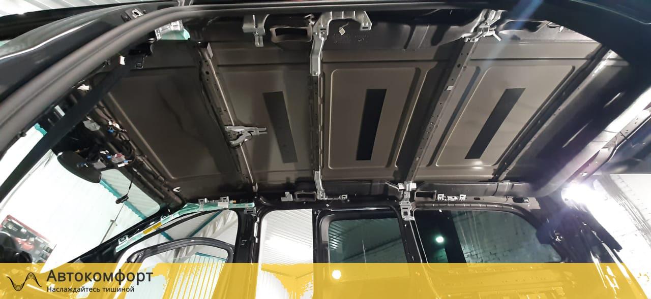 Шумоизоляция крыши (потолка) Mercedes Benz V Class W447 (В Класс)