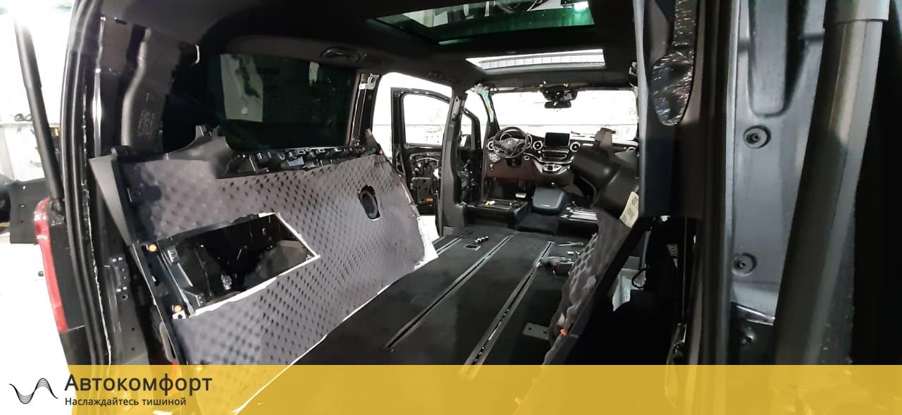 Шумоизоляция багажника Mercedes Benz V Class W447 (В Класс)