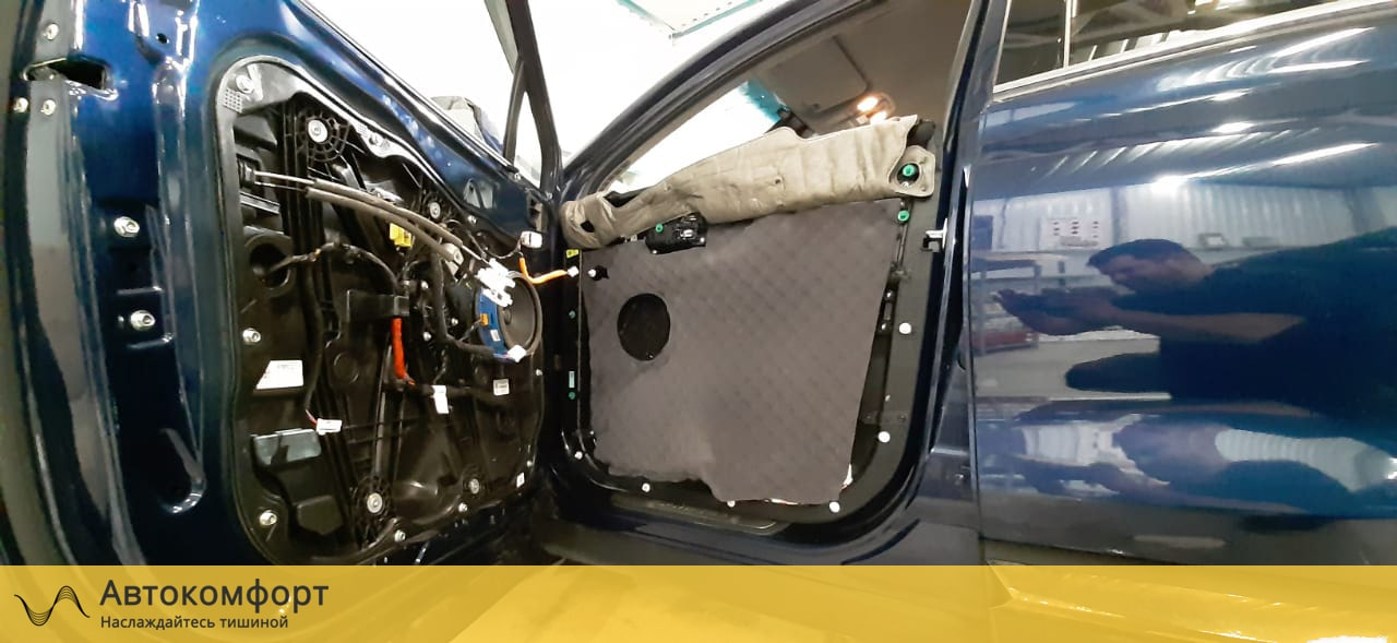 Шумоизоляция дверей Hyundai Santa Fe IV (Санта Фе 4)