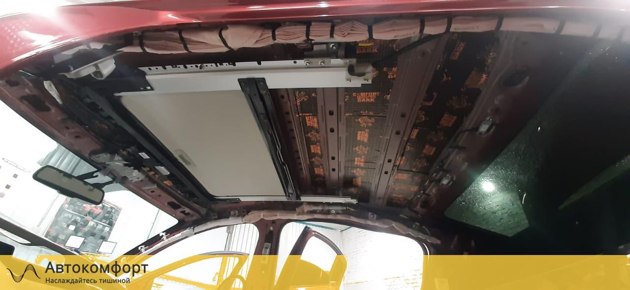 Шумоизоляция крыши (потолка) Mazda 6 GJ 3 поколения