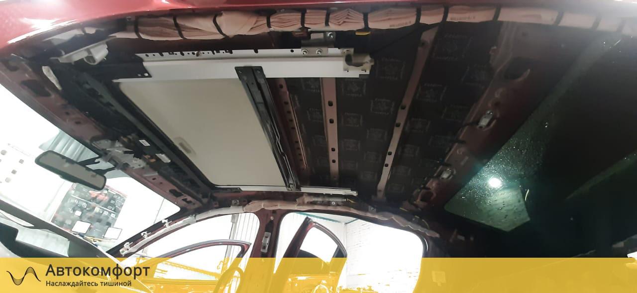 Звукоизоляция крыши (потолка)