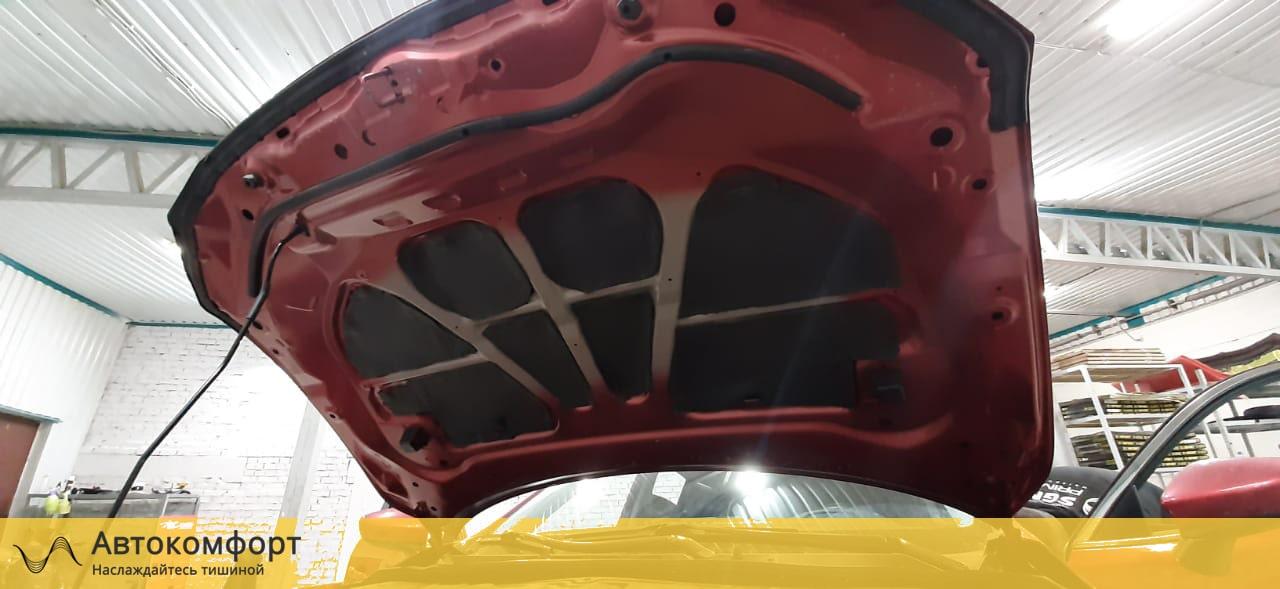 Шумоизоляция капота Mazda 6 GJ 3 поколения