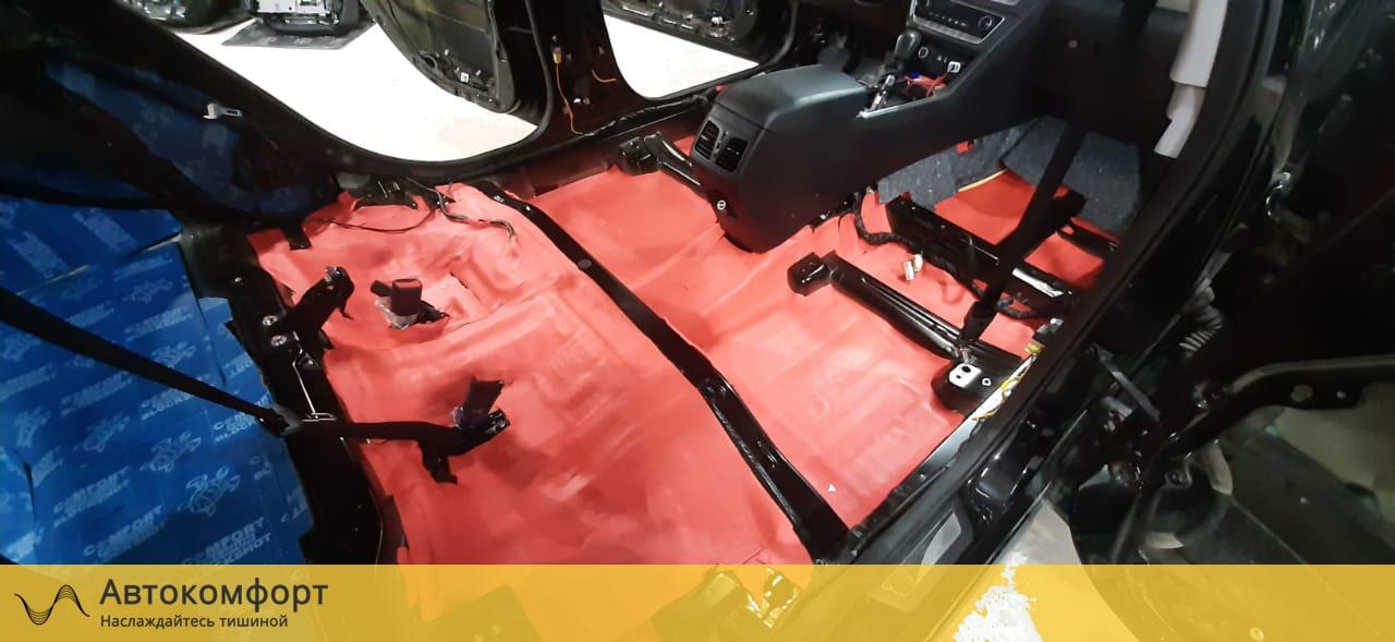 Шумоизоляция пола (днища) Hyundai Sonata 7 LF