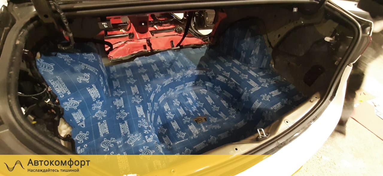 Шумоизоляция багажника Hyundai Sonata 7 LF