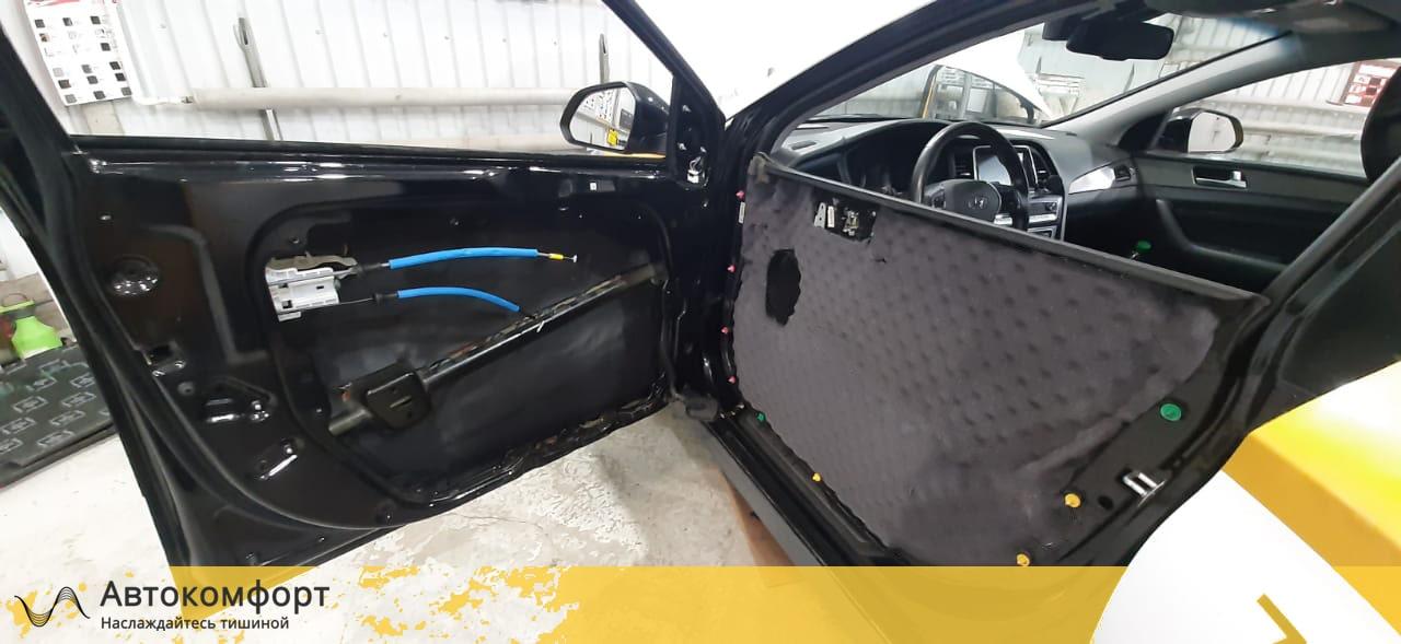 Шумоизоляция дверей Hyundai Sonata 7 LF