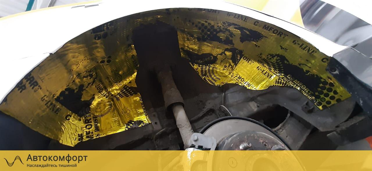 Шумоизоляция колесных арок Hyundai Sonata 7 LF