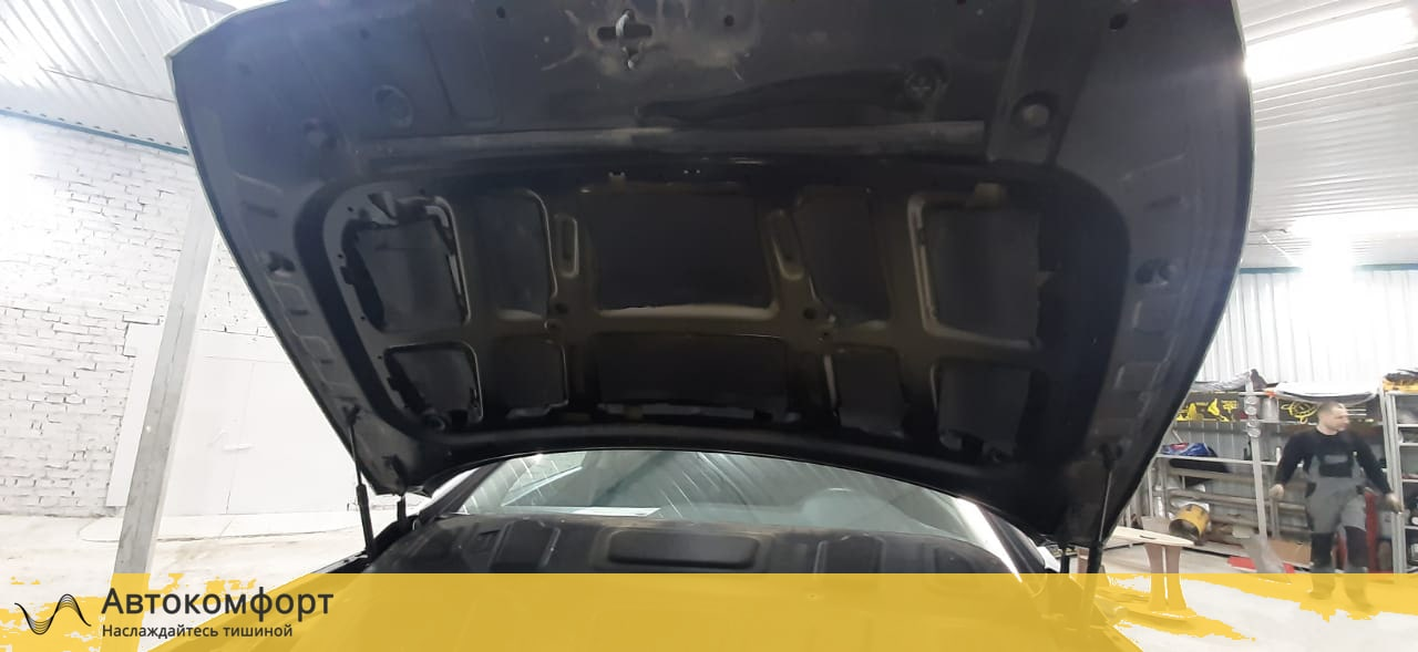 Шумоизоляция капота Hyundai Sonata 7 LF