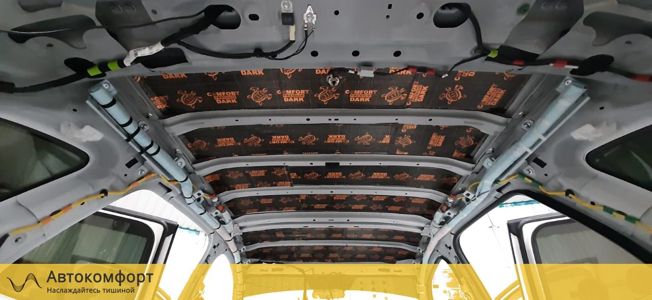 Шумоизоляция крыши (потолка) Mazda CX5 (Мазда СХ5)
