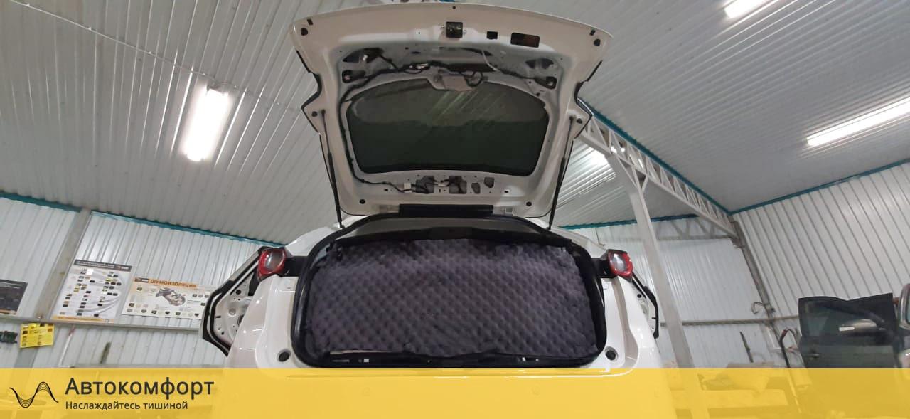 Шумоизоляция крышки багажника Mazda CX5 (Мазда СХ5)