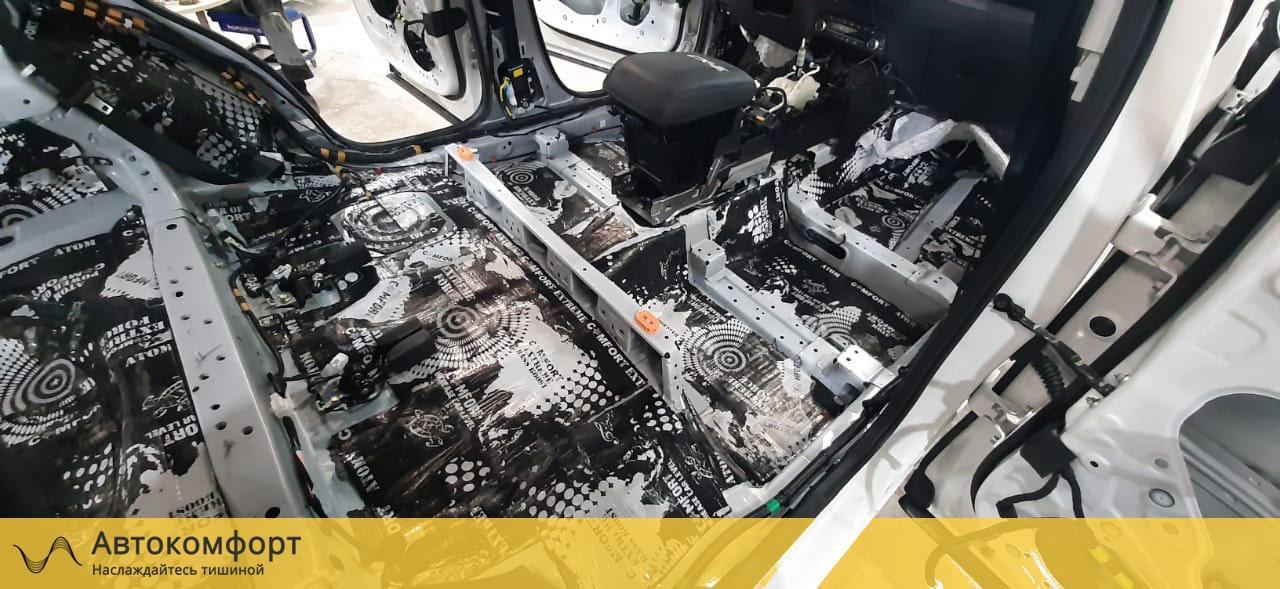 Шумоизоляция пола (днища) Mazda CX5 (Мазда СХ5)